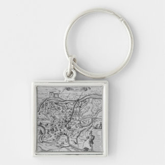 Map of Ancient Rome Keychain