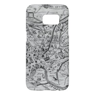 Map of Ancient Rome Samsung Galaxy S7 Case