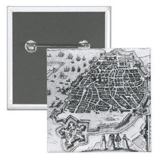 Map of Antwerp, 1598 Pins