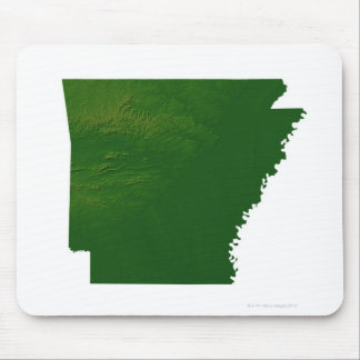 Map of Arkansas Mouse Pad