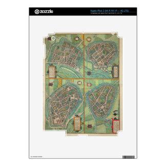 Map of Arnhem, Velmo, Gelre, and Ruerm, from 'Civi iPad 3 Decal