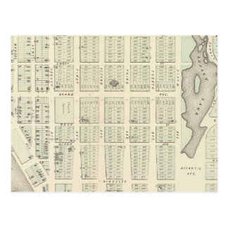Map of Asbury Park, Monmouth County, New Jersey Postcard