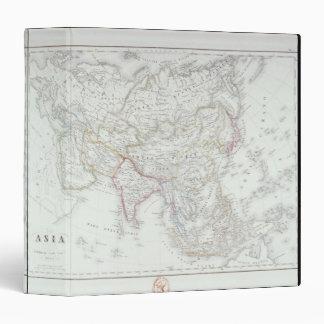 Map of Asia 2 3 Ring Binder