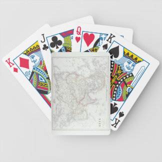 Map of Asia 2 Bicycle Playing Cards