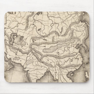 Map of Asia 2 Mouse Pad