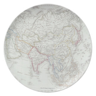 Map of Asia 2 Plates