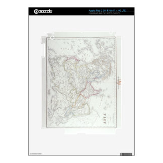 Map of Asia 2 iPad 3 Skins