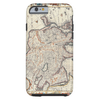 Map of Asia 3 Tough iPhone 6 Case