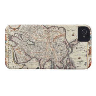 Map of Asia 3 Case-Mate iPhone 4 Case