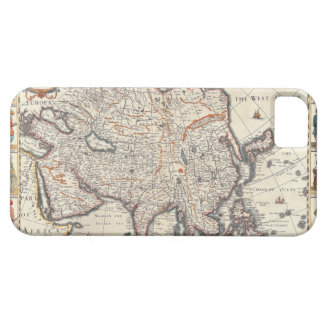 Map of Asia 3 iPhone SE/5/5s Case