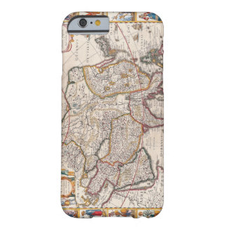 Map of Asia 4 Barely There iPhone 6 Case