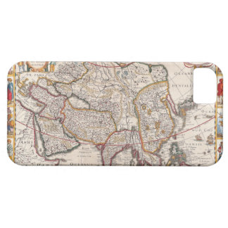 Map of Asia 4 iPhone SE/5/5s Case