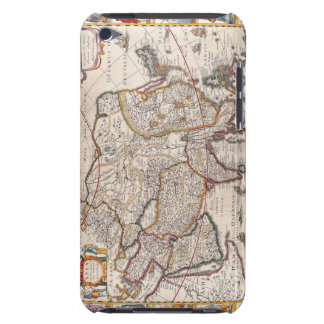 Map of Asia 4 iPod Touch Cover
