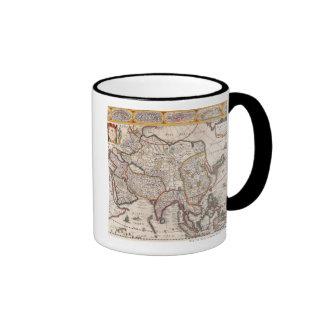 Map of Asia 4 Coffee Mug