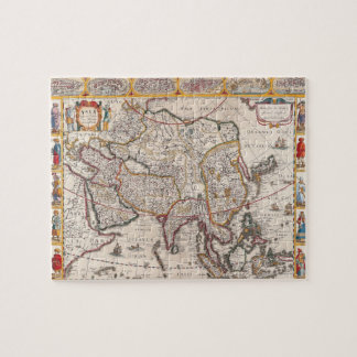 Map of Asia 4 Puzzle