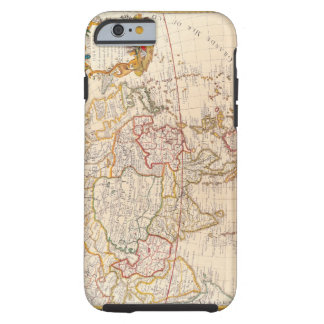 Map of Asia 5 Tough iPhone 6 Case