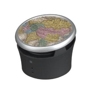 Map of Asia Bluetooth Speaker