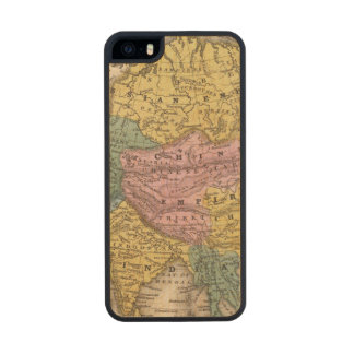 Map of Asia Carved® Maple iPhone 5 Case