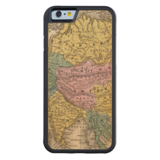Map of Asia Carved® Maple iPhone 6 Bumper Case