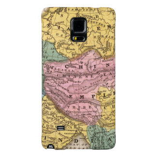 Map of Asia Galaxy Note 4 Case