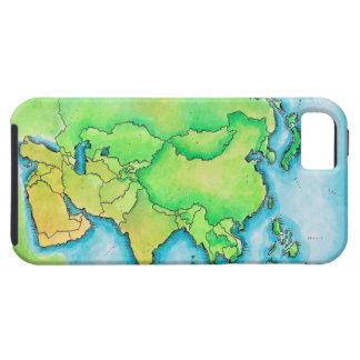 Map of Asia iPhone SE/5/5s Case