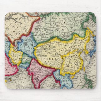 Map Of Asia Mouse Pad