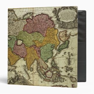 Map of Asia, Nuremberg, c.1730 Binder