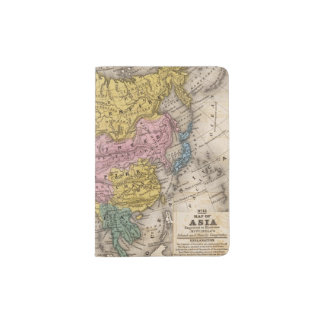 Map of Asia Passport Holder