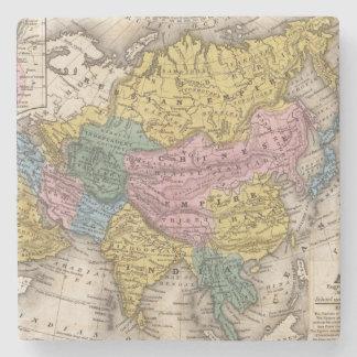 Map of Asia Stone Coaster