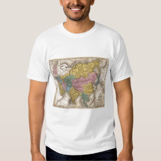 Map of Asia Tshirt