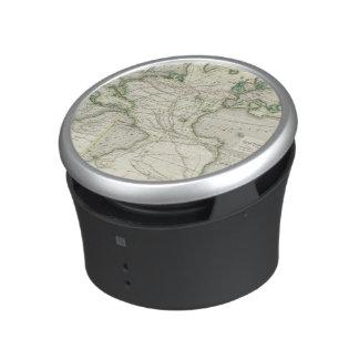 Map of Atlantic Ocean Bluetooth Speaker