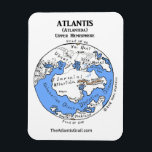 """Map of Atlantis - Upper Hemisphere - Magnet 1<br><div class=""""desc"""">Great fridge magnet! Explore the mysterious home world of Aeson Kassiopei in this Map of planet Atlantis (Upper Hemisphere) inspired by The Atlantis Grail science fiction series by Vera Nazarian. Be sure to get the magnet with other hemisphere too!</div>"""