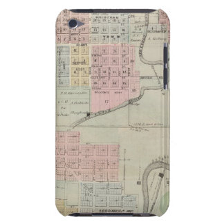 Map of Austin, Mower County, Minnesota iPod Case-Mate Cases
