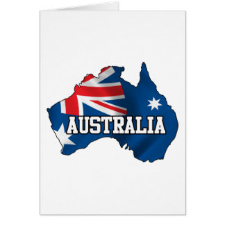 Map Of Australia Cards