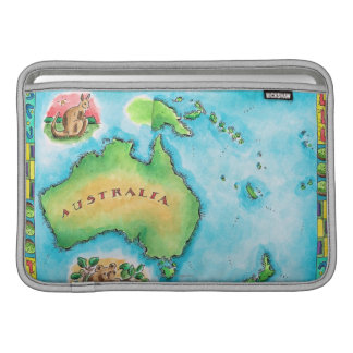 Map of Australia MacBook Sleeve