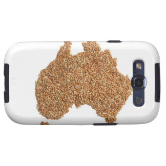 Map of Australia made of Glutinous Rice Galaxy SIII Cover