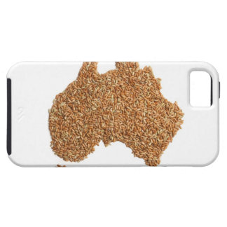 Map of Australia made of Glutinous Rice iPhone SE/5/5s Case