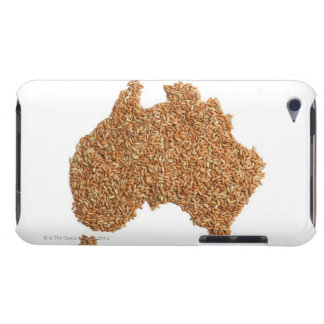 Map of Australia made of Glutinous Rice iPod Case-Mate Case