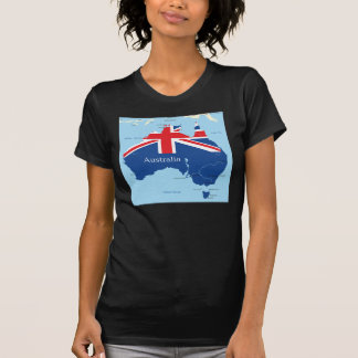 Map Of Australia Womens T-Shirt