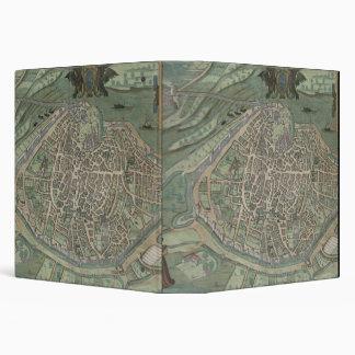 Map of Avignon, from 'Civitates Orbis Terrarum' by 3 Ring Binder