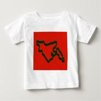 Map of Bangladesh Baby T-Shirt