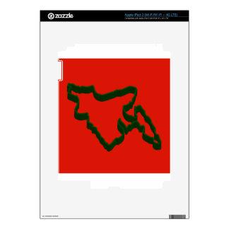 Map of Bangladesh iPad 3 Skin