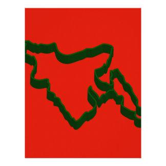 Map of Bangladesh Letterhead