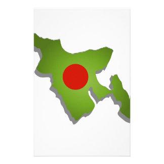 Map of Bangladesh Stationery