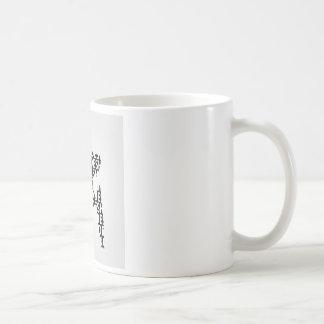 Map of Bangladesh with text inside Coffee Mug
