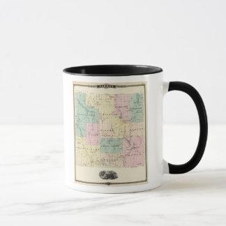 Map of Barron County, State of Wisconsin Mug