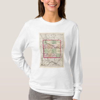 Map of Barry County, Michigan T-Shirt