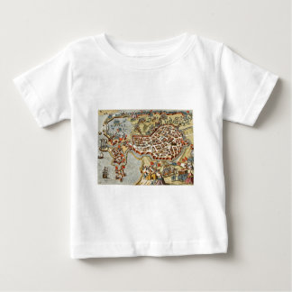 Map of Bergen op Zoom, Holland Infant T-shirt