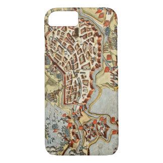 Map of Bergen op Zoom, Holland iPhone 8/7 Case