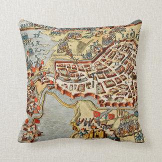 Map of Bergen op Zoom, Holland Pillows